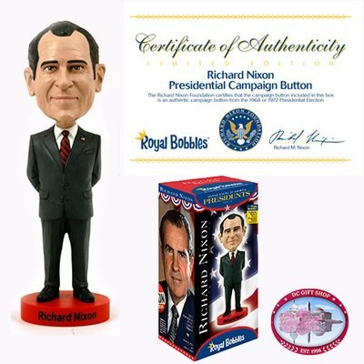 Gifts - Toys - Richard Nixon Bobblehead