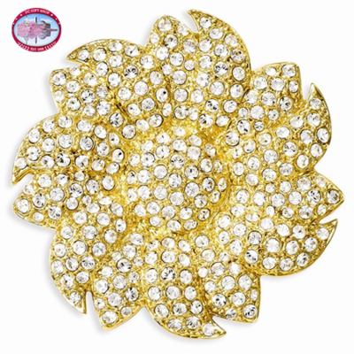 Kennedy Sunflower Brooch