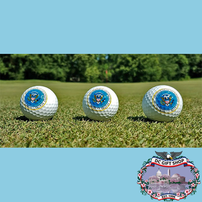 Presidential Great Seal Golf Ball Set