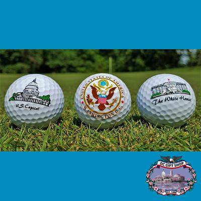Washington DC Golf Ball Set