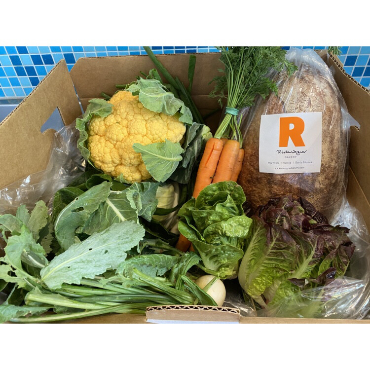 Home Delivery with Rockenwagner Bread