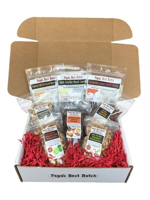 Large Assorted Nut & Jerky Combo Gift Box