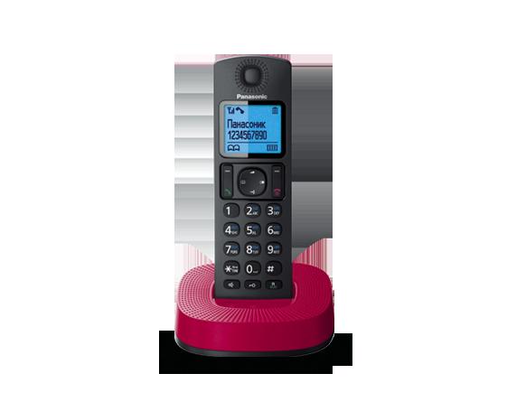 Радиотелефон Panasonic KX-TGC310RUR с одной трубкой