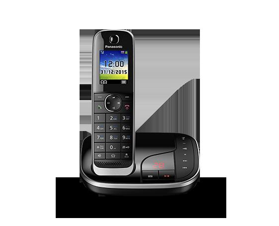 Цифровой беспроводной телефон с автоответчиком Panasonic KX-TGJ320RU (1 трубка)