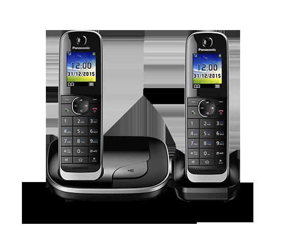 Цифровой беспроводной телефон с автоответчиком Panasonic KX-TGJ312RU (2 трубки)
