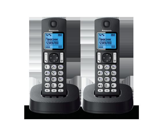 Радиотелефон Panasonic KX-TGC322RU1 с двумя трубками