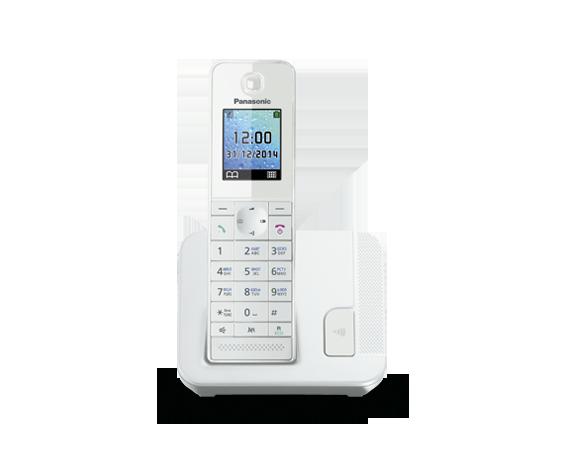 Цифровой беспроводной телефон  Panasonic KX-TGH210RUW с одной трубкой
