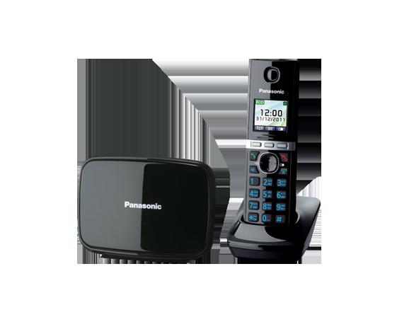 Радиотелефон Panasonic KX-TG8081RUB