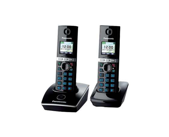 Радиотелефон Panasonic KX-TG8052RUB
