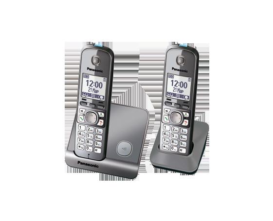 Радиотелефон Panasonic KX-TG6712RUM