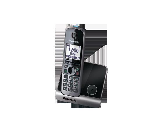 Радиотелефон Panasonic KX-TG6711RUB