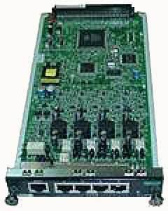 Плата внутренних гибридных абонентов на 4 порта KX-NCP1170XJ