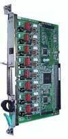 Плата 8 аналоговых внешних линий KX-TDA0180X