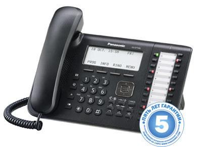 Цифровой системный телефон KX-DT546RU-B