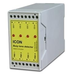 ICON BTD4А - 4 канальный детектор отбоя с питанием от внешней линии