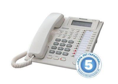 Аналоговый системный телефон с ЖК 24 клавиши KX-T7735RU