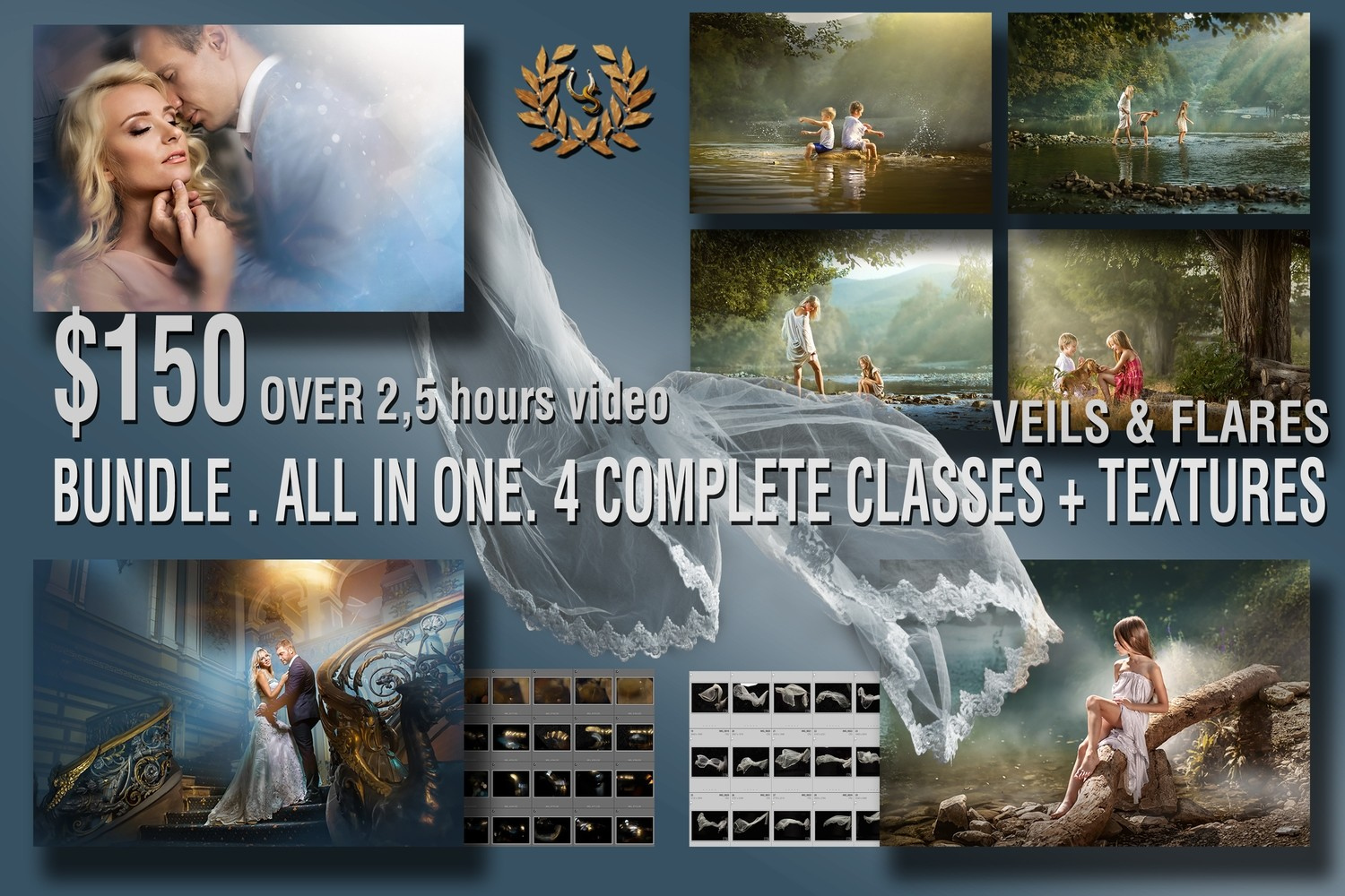 BUNDLE . ALL IN ONE. 10 COMPLETE CLASSES + TEXTURES