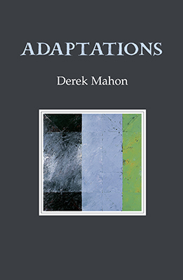 the poetry of derek mahon Derek mahon is widely regarded as one of the most talented and innovative irish poets of the late 20th century affiliated with the generation of young poets from northern ireland who rose to prominence in the 1960s and 1970s.