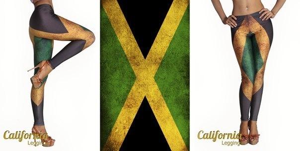 CALIFORNIA CLASSIC Jamaican flag