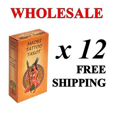 Wholesale: 12 decks + free shipping. Maori Tattoo Tarot