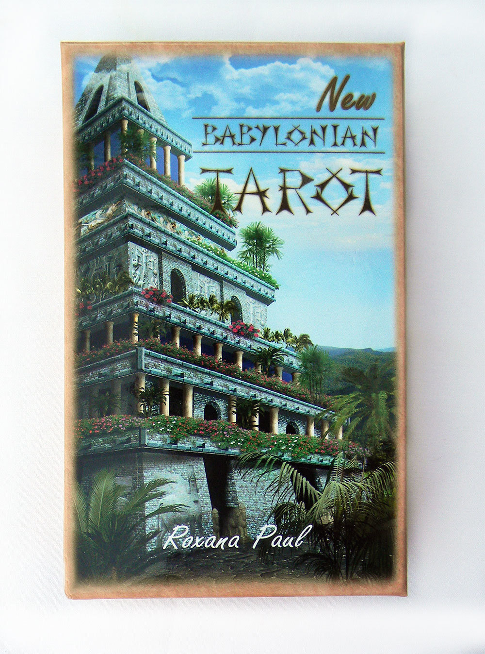 New Babylonian Tarot MAXI Deck - Collectors!