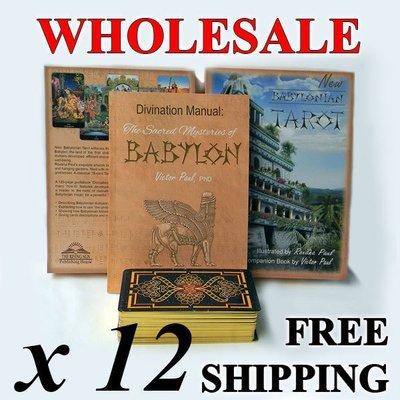 Wholesale: 12 decks + free shipping, New Babylonian Tarot