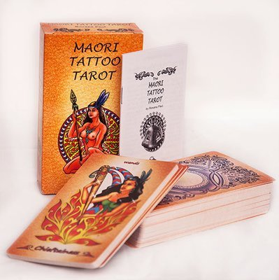 Maori Tattoo Tarot deck (Prices in USD, includes free shipping)
