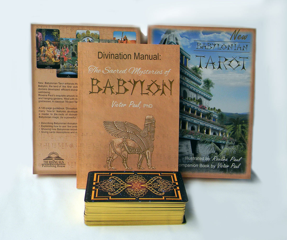 New Babylonian Tarot (STANDARD SET = cards +book)