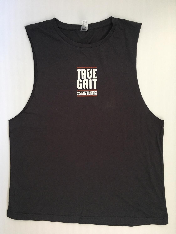 True Grit Slate Grey Muscle Top - Men's