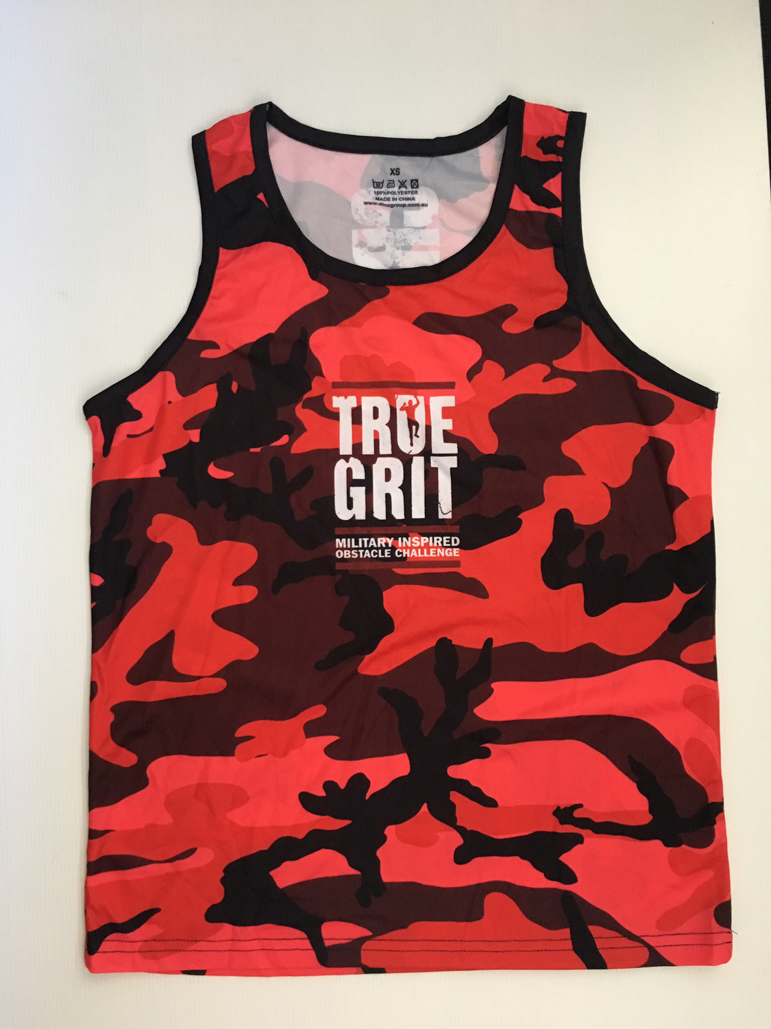 True Grit Camo Red Tank - Unisex