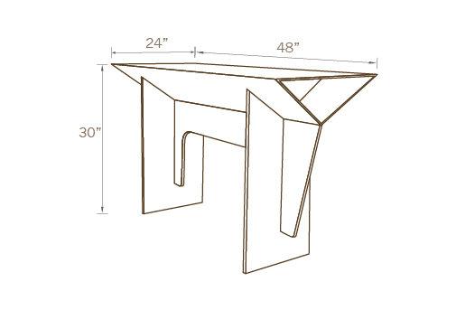 Delta Table 48 X 24