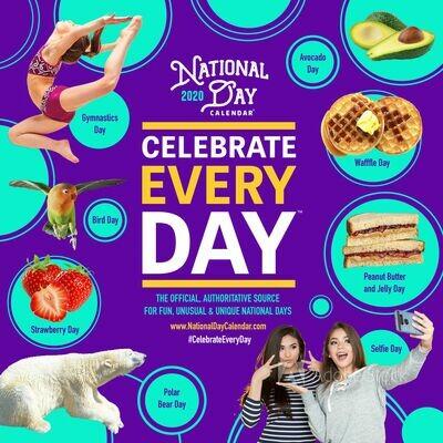 2020 National Day WALL Calendar