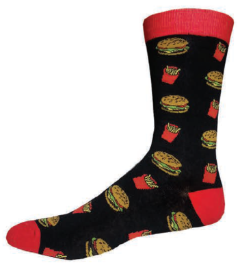 National Day Calendar Products Fast Food Socks For Men