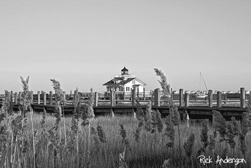 """""""Manteo"""" - Roanoke Marshes Lighthouse"""