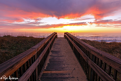 """Earth Day Dawns"" - Outer Banks, NC"