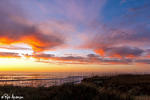 """""""Earth Day Sky"""" - Outer Banks, NC"""