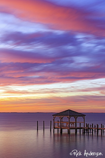 Currituck Sound Afterglow - Duck, NC