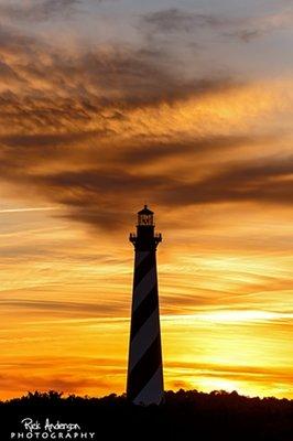 Sunset Cape Hatteras Lighthouse