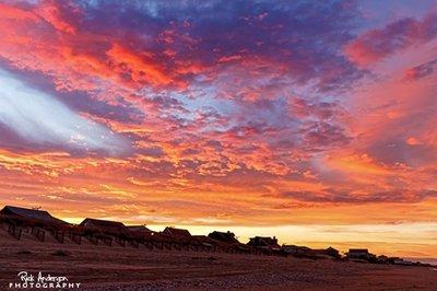 Sunset over Kill Devil Hills, NC