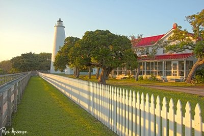 Spring on Ocracoke Island