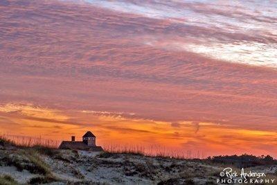 November Sky - Sunset Carova, NC
