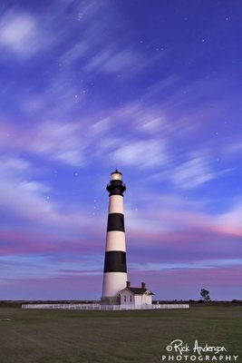 Winter Evening at Bodie Island Ligththouse
