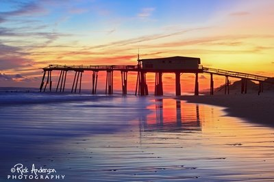 Sunset at Frisco Pier