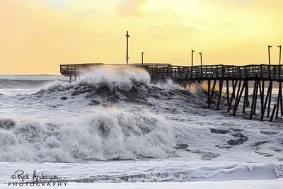 Winter Storm Mars - Avalon Pier