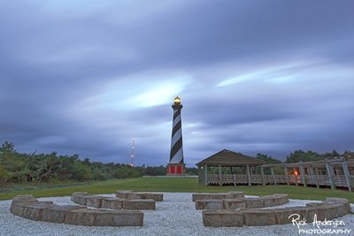 Blue Hour as Tropical Storm Hermine Moves Offshore