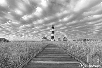 The Outer Banks Sky - Bodie Island Lighthouse