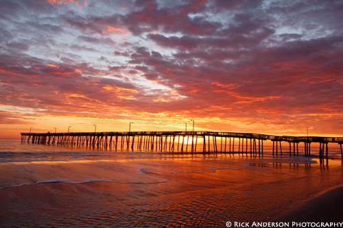 """A New Day"" - Nags Head Pier"