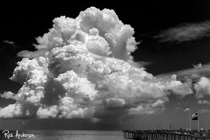 Cumulonimbus Cloud - Avalon Pier