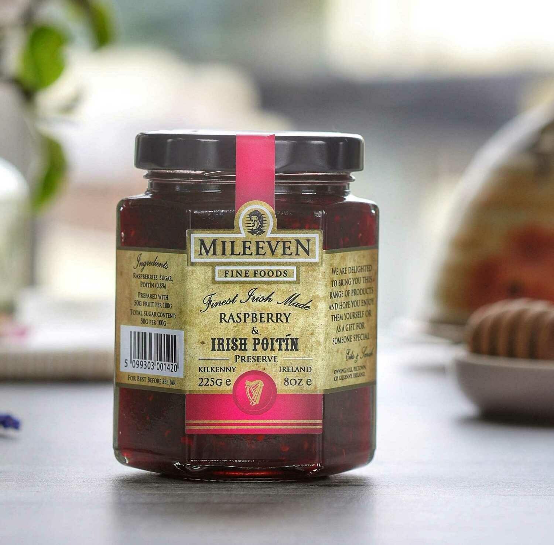 Mileeven Raspberry & Irish Poitín Preserve