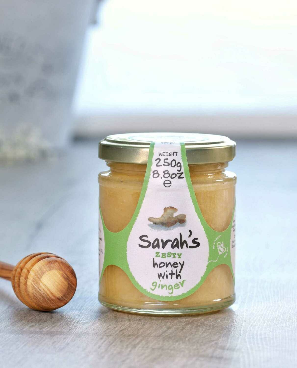 Sarah's Zesty Honey with Ginger